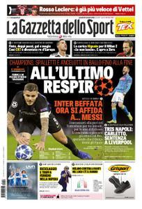 La Gazzetta dello Sport Roma – 29 novembre 2018