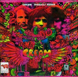 Cream - Disraeli Gears (1967) RSO/2394 129 - CA Pressing - LP/FLAC In 24bit/96kHz