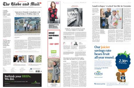 The Globe and Mail – January 14, 2019