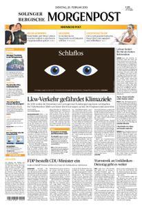 Solinger Morgenpost – 26. Februar 2019
