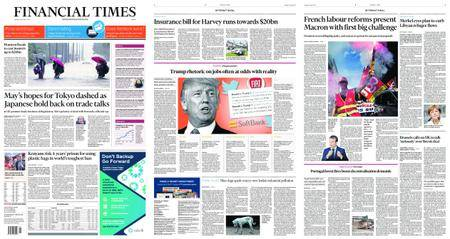 Financial Times Europe – August 29, 2017