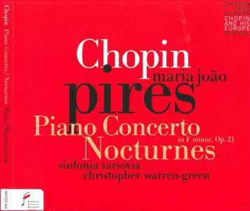 Maria Joao Pires, Sinfonia Varsovia, Christopher Warren-Green - Frederic Chopin: Piano Concerto No.2; Nocturnes (2015)