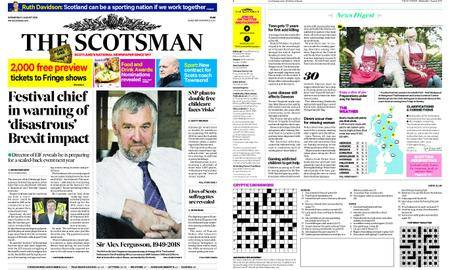 The Scotsman – August 01, 2018