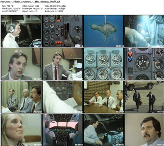 BBC Horizon – Plane Crashes – The Wrong Stuff