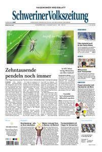 Schweriner Volkszeitung Hagenower Kreisblatt - 02. August 2018