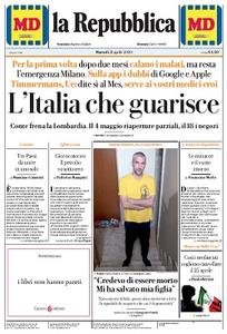 la Repubblica - 21 Aprile 2020