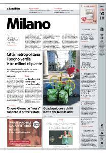 la Repubblica Milano - 26 Maggio 2018