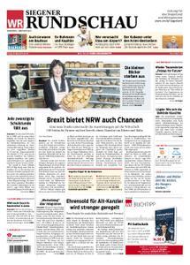 Westfälische Rundschau Siegen - 22. März 2019