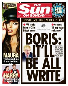 The Sun UK - 29 March 2020