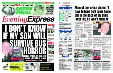 Evening Express – April 13, 2018