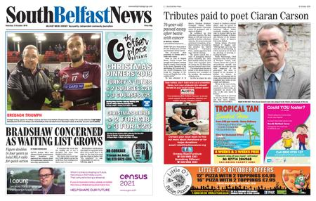 South Belfast News – October 10, 2019