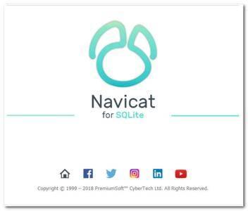 Navicat for SQLite  12.1.21
