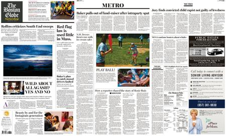 The Boston Globe – August 10, 2019
