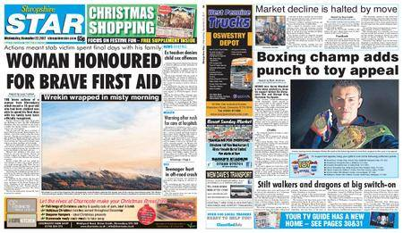 Shropshire Star Shrewsbury Edition – November 22, 2017
