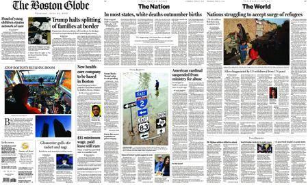 The Boston Globe – June 21, 2018