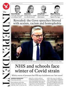 The Independent - 14 September 2021