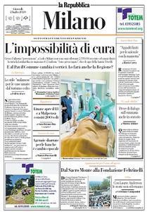 la Repubblica Milano - 2 Luglio 2020