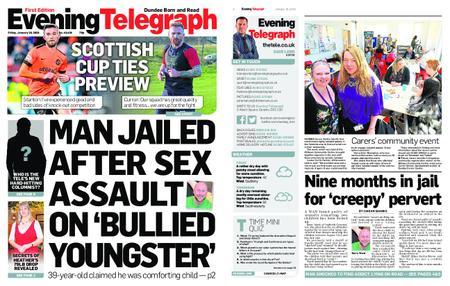 Evening Telegraph First Edition – January 18, 2019