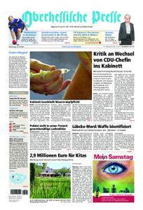 Oberhessische Presse Marburg/Ostkreis - 18. Juli 2019