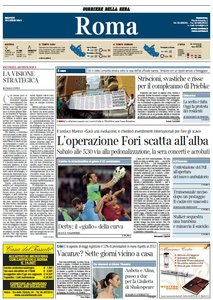 Il Corriere della Sera Ed. ROMA (30-07-13)