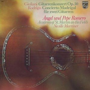 Ángel & Pepe Romero - Concierto Madrigal Für Zwei Gitarren (1975) NL 1st Pressing - LP/FLAC In 24bit/96kHz