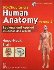 BD Chaurasia's Human Anatomy - Head Neck & Brain (Volume 3)