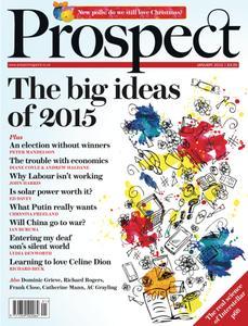 Prospect Magazine - January 2015
