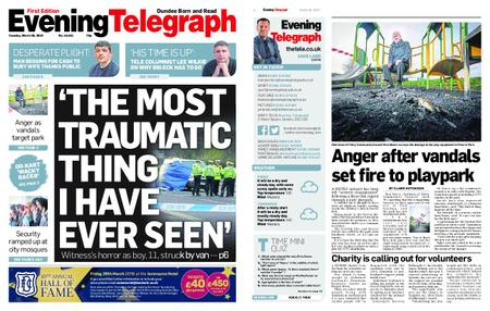 Evening Telegraph First Edition – March 26, 2019