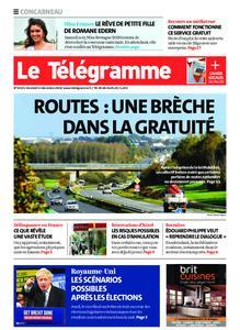 Le Télégramme Concarneau – 13 décembre 2019