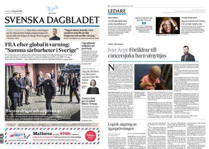 Svenska Dagbladet – 18 april 2018