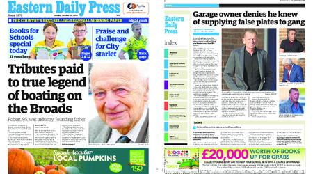 Eastern Daily Press – October 23, 2018