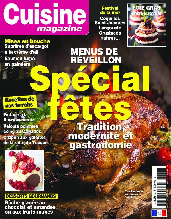 Cuisine Magazine – octobre 2018