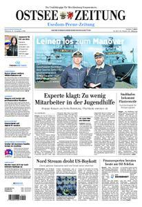 Ostsee Zeitung Wolgast - 14. November 2018