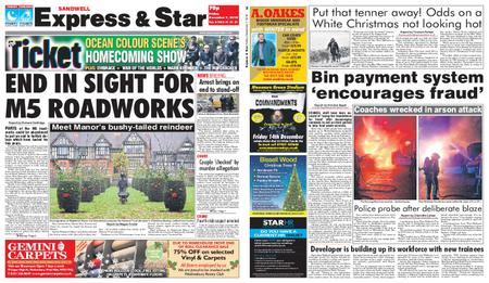 Express and Star Sandwell Edition – December 07, 2018