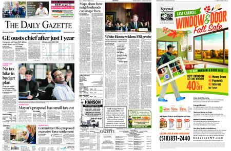 The Daily Gazette – October 02, 2018