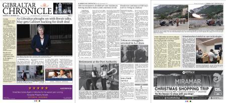Gibraltar Chronicle – 15 November 2018