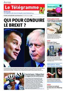 Le Télégramme Auray – 22 juillet 2019