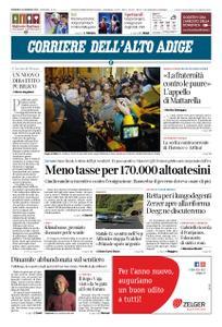 Corriere dell'Alto Adige – 26 gennaio 2020