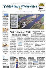 Schleswiger Nachrichten - 25. Oktober 2018