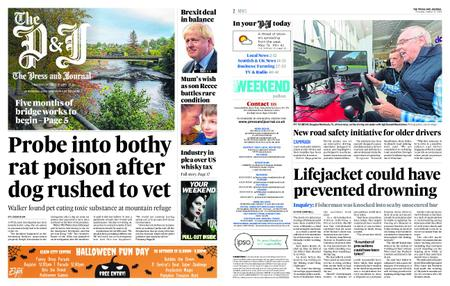 The Press and Journal Moray – October 17, 2019