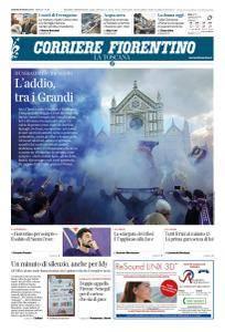 Corriere Fiorentino La Toscana - 9 Marzo 2018