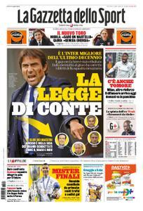 La Gazzetta dello Sport – 22 gennaio 2021