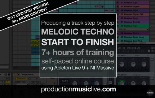 How to Make Melodic Techno Giants Track From Start To Finish