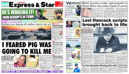 Express and Star Sandwell Edition – October 07, 2017