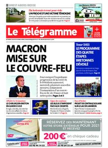 Le Télégramme Brest Abers Iroise – 15 octobre 2020