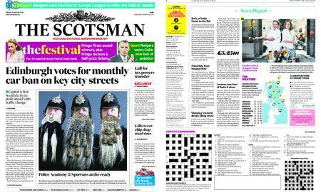 The Scotsman – August 10, 2018