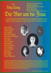 Four Around a Woman / Vier um die Frau (1921)