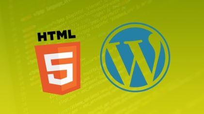 Convert a one page HTML5 Template to a WordPress Theme
