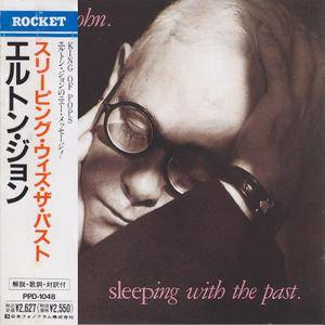 Elton John - Sleeping With The Past (1989) [Nippon Phonogram PPD-1048, Japan]