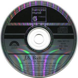 Marion Verbruggen, Mitzi Meyerson - Johann Sebastian Bach: Trio Sonatas (1994)